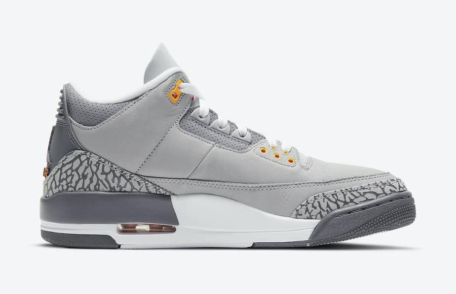 Air Jordan 3 'Cool Grey' CT8532-012 8