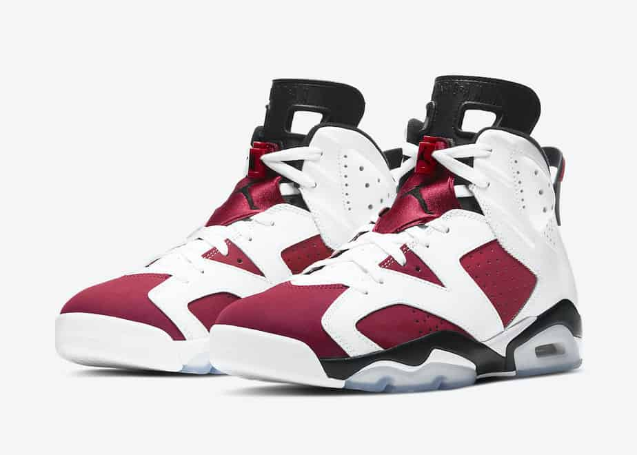 Air Jordan 6 'Carmine' CT8529-106 1