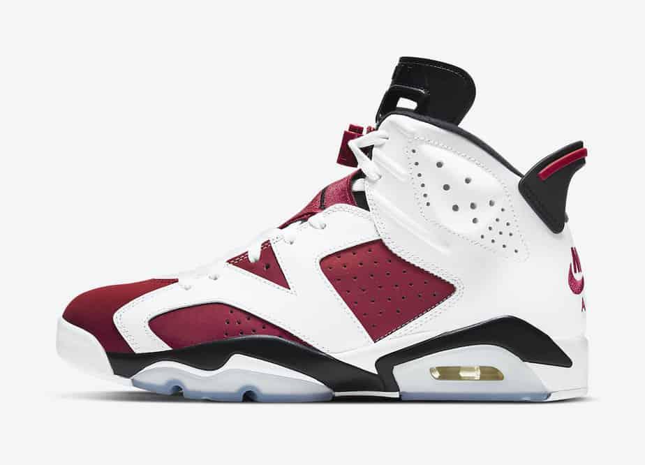 Air Jordan 6 'Carmine' CT8529-106 2
