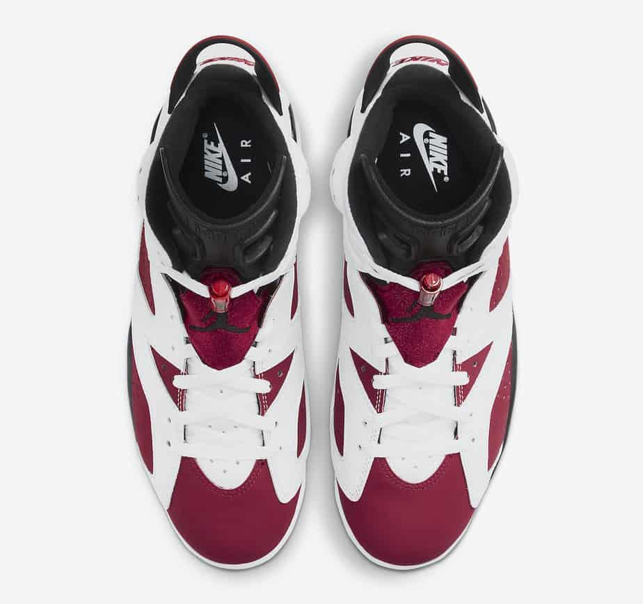 Air Jordan 6 'Carmine' CT8529-106 3