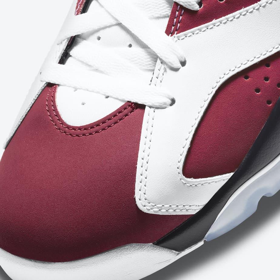 Air Jordan 6 'Carmine' CT8529-106 6