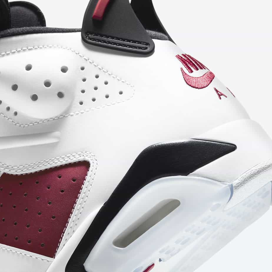 Air Jordan 6 'Carmine' CT8529-106 7