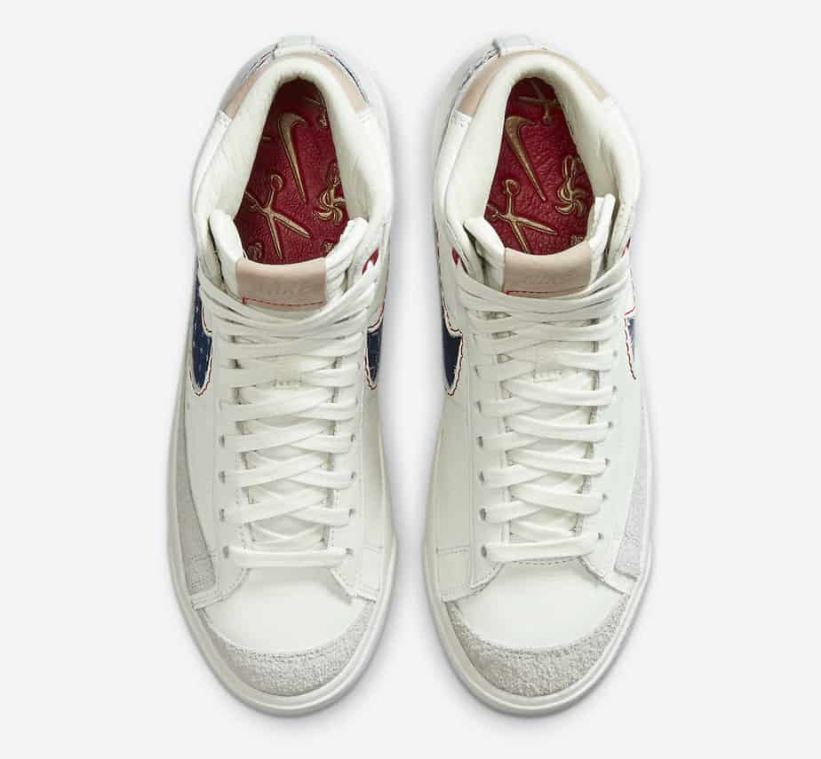 Denham x Nike Blazer Mid CU8054-100 3