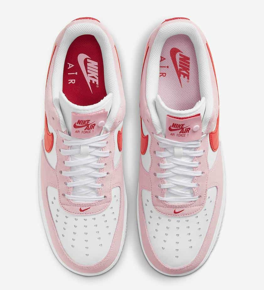 Nike Air Force 1 Low 'Valentines Day' DD3384-600 3