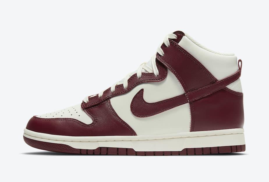 Nike Dunk Hi 'Team Red' DD1869-101 2