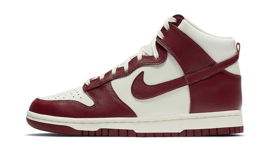 Nike Dunk Hi Team Red DD1869-101