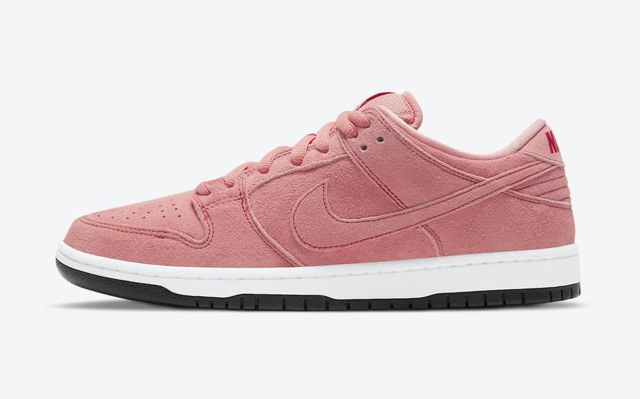 Nike SB Dunk Low 'Pink Pig' CV1655-600 2