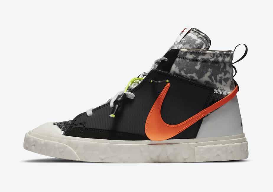 READYMADE x Nike Blazer Mid 'Black' CZ3589-001 2