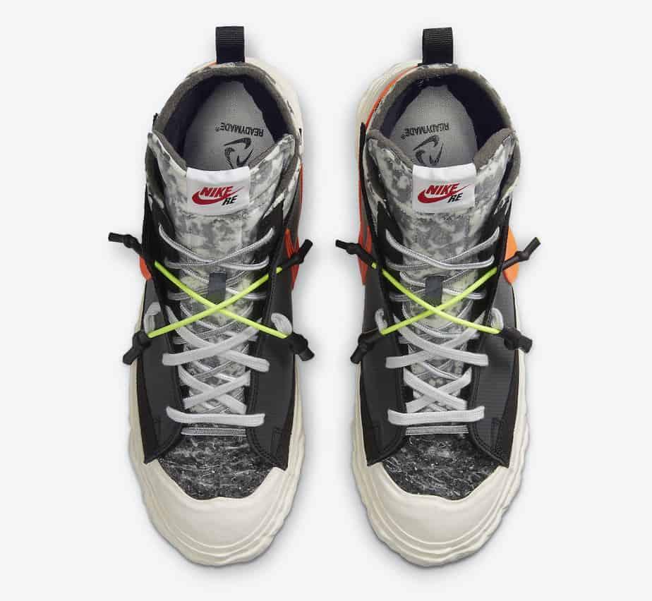 READYMADE x Nike Blazer Mid 'Black' CZ3589-001 3