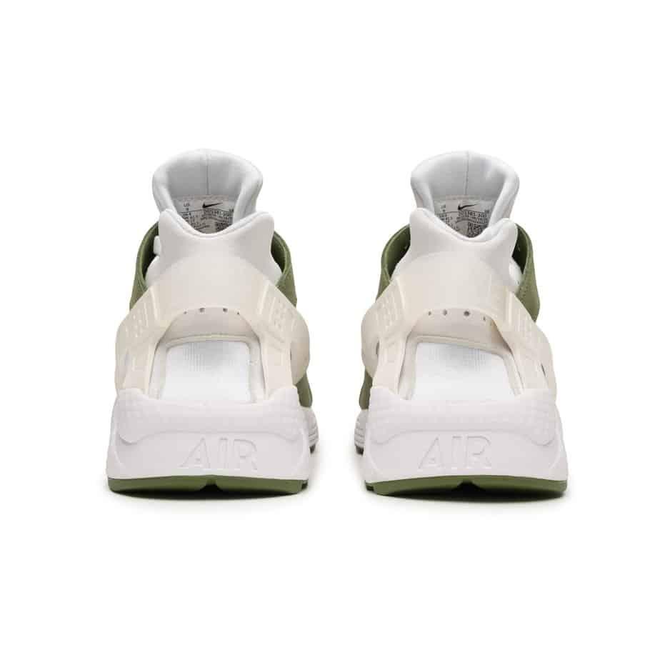 Stussy x Nike Air Huarache 'Dark Olive' DD1381-300 3