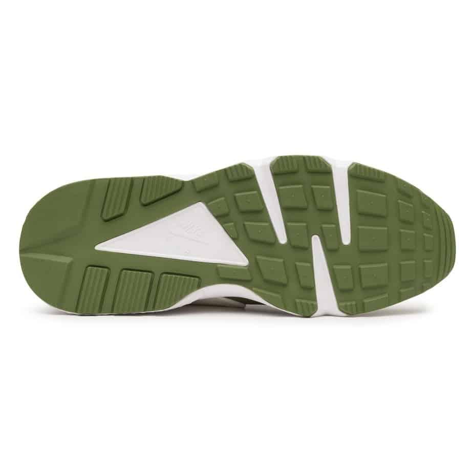 Stussy x Nike Air Huarache 'Dark Olive' DD1381-300 4