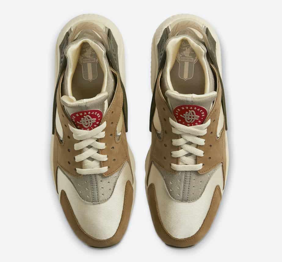 Stussy x Nike Air Huarache 'Desert Oak' DD1381-200 3
