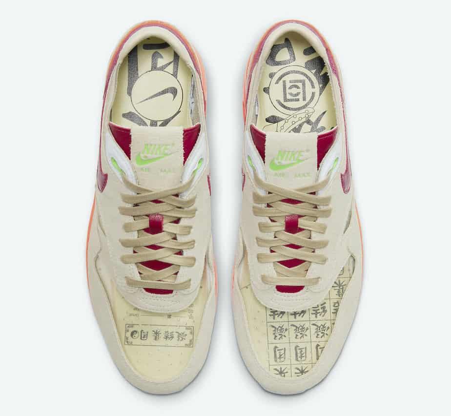 Clot x Nike Air Max 1 'Kiss of Death' DD1870-100 3