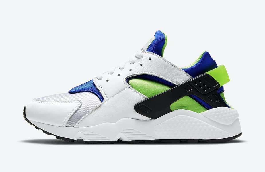 Nike Air Huarache 'Scream Green' DD1068-100 2
