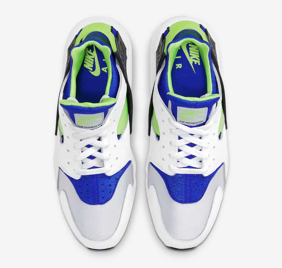 Nike Air Huarache 'Scream Green' DD1068-100 3
