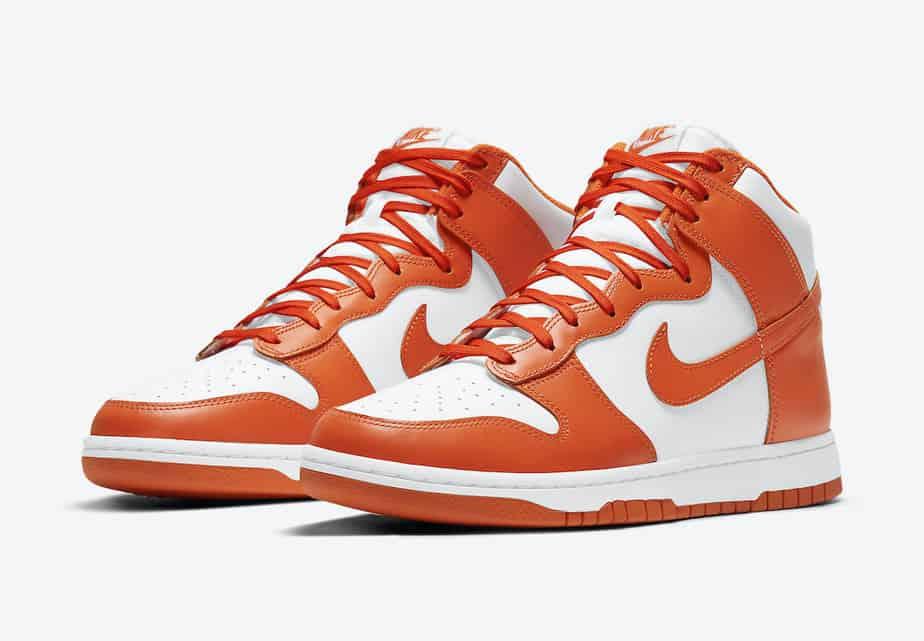 Nike Dunk High 'Syracuse Orange Blaze' DD1869-100 1