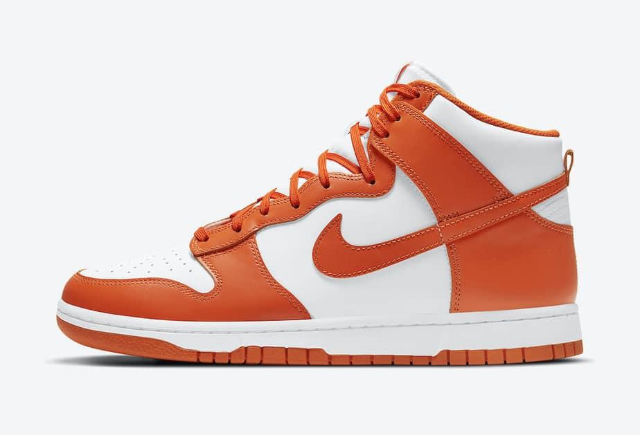 Nike Dunk High 'Syracuse Orange Blaze' DD1869-100 2