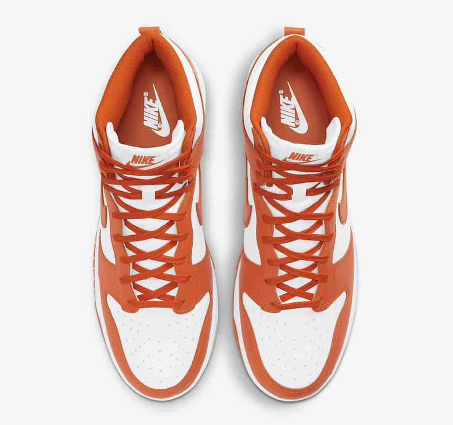 Nike Dunk High 'Syracuse Orange Blaze' DD1869-100 3