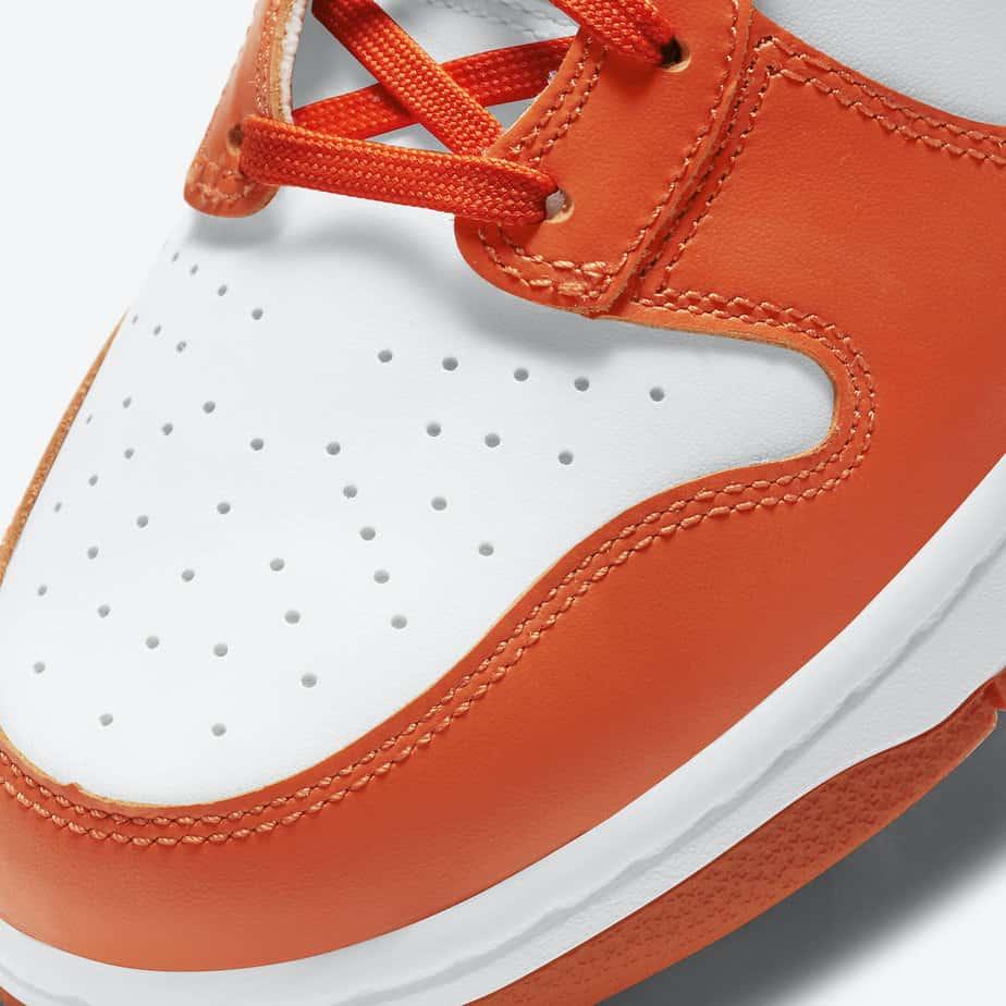 Nike Dunk High 'Syracuse Orange Blaze' DD1869-100 6