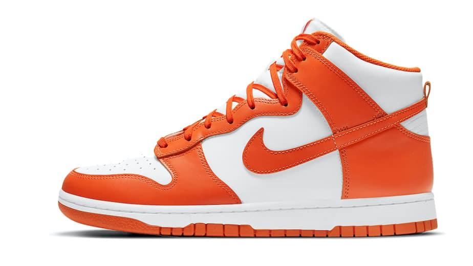 Nike Dunk High Syracuse Orange Blaze DD1869-100