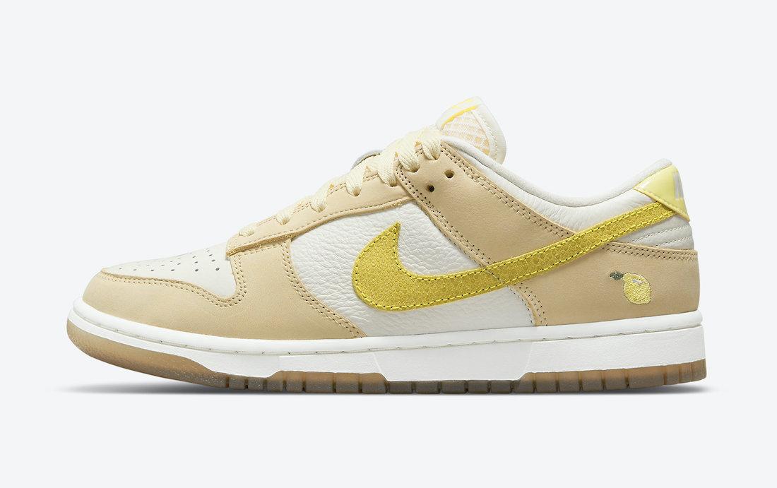 Nike Dunk Low 'Lemon Drop' DJ6902-700 2