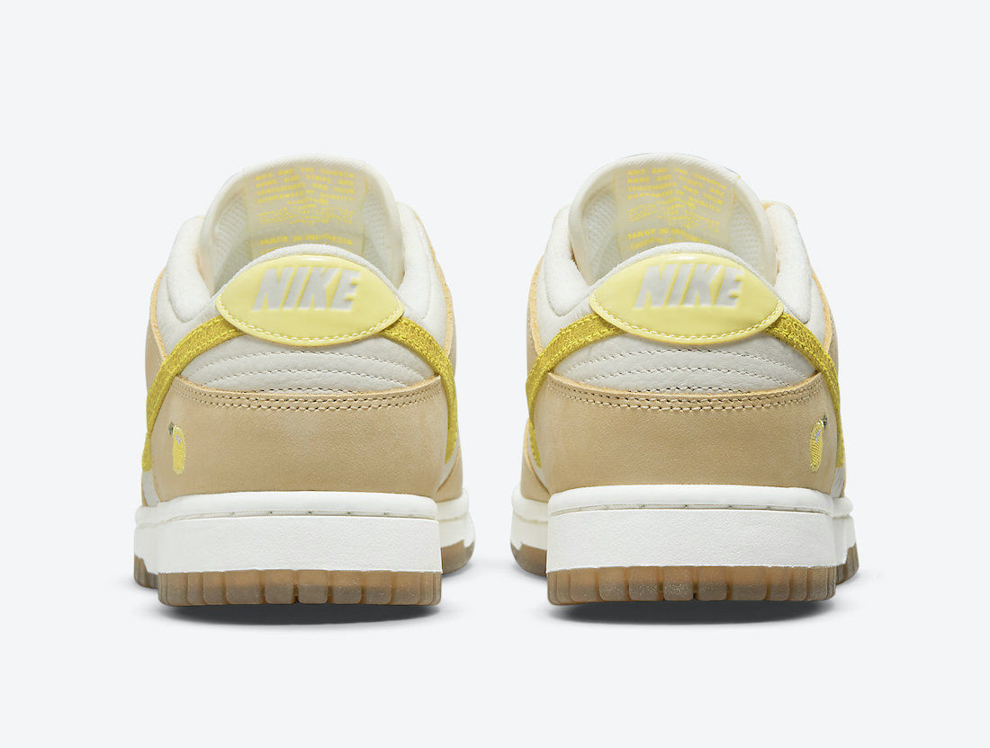 Nike Dunk Low 'Lemon Drop' DJ6902-700 4