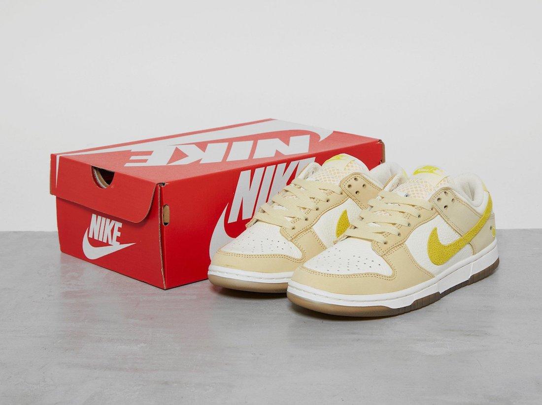 Nike Dunk Low 'Lemon Drop' DJ6902-700 9