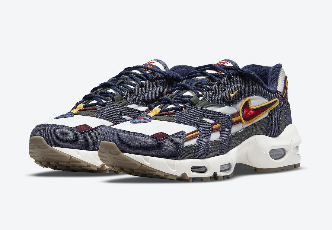 Nike Air Max 96 II Dark Denim DJ6742-400 1