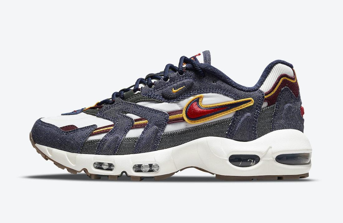 Nike Air Max 96 II Dark Denim DJ6742-400 2