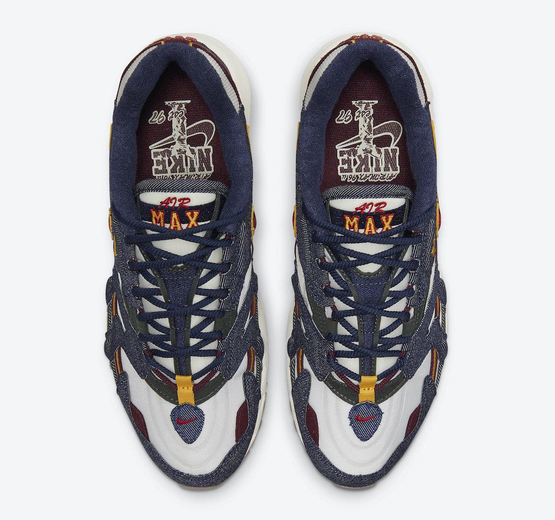 Nike Air Max 96 II Dark Denim DJ6742-400 3