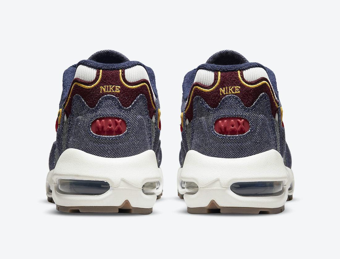 Nike Air Max 96 II Dark Denim DJ6742-400 4